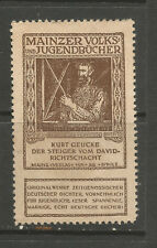 Germany/Mainz Volks & Jugendbucher poster stamp/label (Book #20)