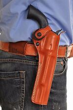 """Leather OWB Paddle Holster For Revolver Colt Single Action Army 45/ 45LC 7.5""""BBL"""