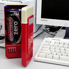 Mini USB  Drink Fridge Beverage Can Cooler Warmer Refrigerator Freezer Car  PC