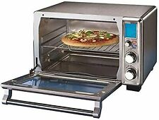 Oster Digital Stainless Steel Countertop Turbo Convection Oven Brushed Stainless