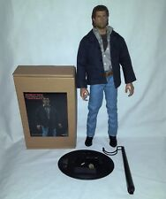 REDMAN TOYS 1/6 HOT FIGURE MEL GIBSON LETHAL WEAPON & CUSTOM STAND NOT SIDESHOW