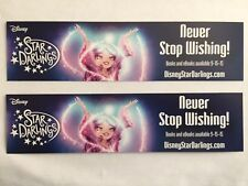 DISNEY D23 EXPO EXCLUSIVE STAR DARLINGS BOOKMARK LOT OF 2