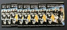 Pittsburgh Penguins 2006-2007 Pocket Schedule Lot Of 8 Sidney Crosby
