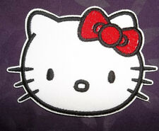 HELLO KITTY PATCH EMBROIDRED SEW/IRON ON DIY