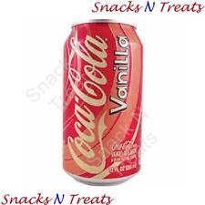 Vanilla Coca Cola Coke Soft Drink USA 12 X 355ml Cans - Bulk Party Pack