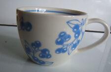 Starbucks 2007 Blue Cherry Cappuccino Coffee Mug 13 oz