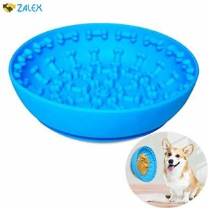 Dog Slow Feeder Bowls ,Non Slip with Suction Cup,Anti-gulping pet Slower Food Fe