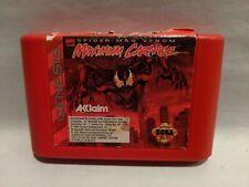 Maximum Carnage (Sega Genesis, 1994) Cleaned & Tested - SHIPS FREE!