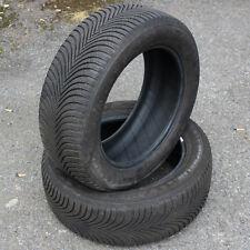 2 x Michelin Alpin 5 225/55 R17 101V XL BSW M+S (Winter Tyres) Partworn 7mm