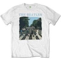 The Beatles Abbey Road & Logo Official Merchandise T-Shirt M/L/XL - Neu