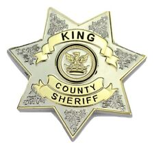 THE WALKING DEAD King County Sheriff Badge Rick Grimes Cosplay/Costume/Fancy Dre