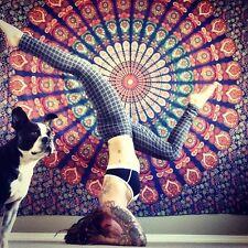 Tapiz De Mandala Pared Colgante Hippie Doble Tapices Dona Tapa Manta Colcha