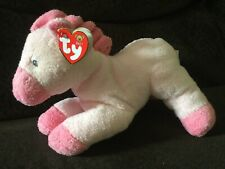 """Ty Pluffies My Baby Horsey Pink Plush Lovey 9"""" With Tags"""