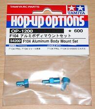 Cuerpo de aluminio Tamiya 54200 F104 Monte Set (F104X1/F104V.2/TRF101), nuevo en paquete