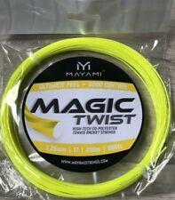 Mayami Magic Twist 1.25mm/17 Tennis Strings Set ; 12m/40ft