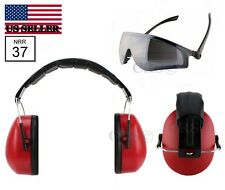 Shooting Gun Range Earmuff Hearing Noise Reduction Ear Protection Highest Nrr 37