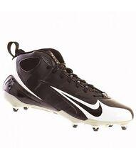 New Nike Mid SUPER SPEED D Detachable 3/4 Mens Football Shoes Black White 15