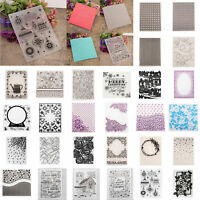 DIY Embossing Folders Plastic Template Die Cutting Cut Scrapbooking Album Card