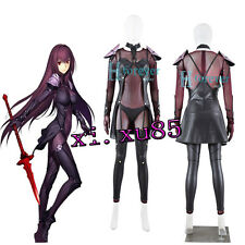 Custom-Made Fate/Grand Order Lancer Scathach Cosplay Costume Any Size Full Set