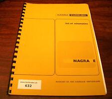 NAGRA KUDELSKI  E  - SET OF SCHEMATICS - CIRCUITS - DETAILED PRESENTATION
