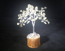 NATURAL CITRINE GEMSTONE CHIP TREE WITH 100 STONES CRYSTAL TREE OF LIFE