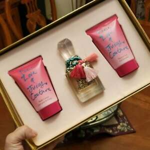 New/Gift Boxed 3pc Juicy Couture Love Peace & Juicy Gift Set
