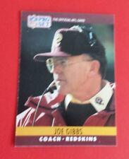 1990 Pro Set Football Joe Gibbs Card #284***Washington Redskins***