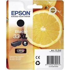 CARTOUCHE EPSON 33XL NOIR / grosse noire black orange t3351 t33 33 xl pour xp830