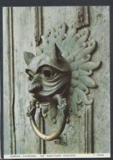 Durham Postcard - Durham Cathedral - The Sanctuary Door Knocker    RR5009