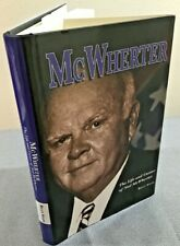 Mcwherter: The Life And Career Of Ned Mcwherter -Billy Stair. Signed TN Governor