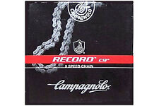 NEW Campagnolo RECORD C9 Chain Fit Chorus, Centaur: 8 & 9 Speed CN99-RE09
