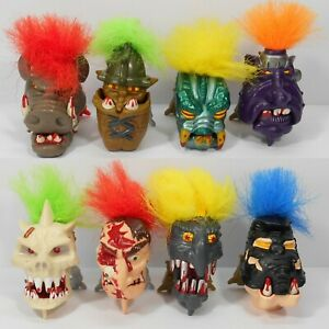 Mighty Max. Dread Heads. Complete Collection. Bluebird Toys. #2.