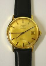 Swiss Rotary Gold Plated Automatic Wrist Watch - £250