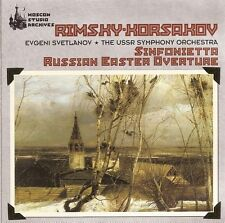 Rimsky-Korsakov - Sinfonietta • Russian Easter Overture / USSR SO • Svetlanov
