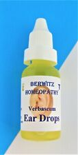 Ear Drops Verbascum  Mullein Oil  Homeopathy Soothes Clears Ear Wax  Berwitz