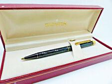 Sheaffer Black Swirl Lacquer White Dot Ballpoint Pen New Old Stock Boxed