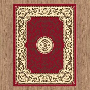 Budget BCF Collection Persian Classic Designs Soft Feel In All Sizes