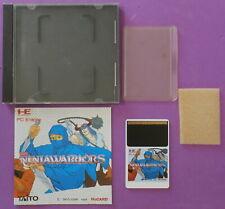 Ninja Warriors (PC Engine, 1989) with Case & Instructions