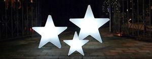 8 Seasons - Shining Star  Weiß - Lampe Leuchte  - Ø 40 cm beleuchteter Stern E27
