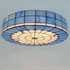 """20"""" Tiffany Style Stained Glass Ceiling Light Fixture Hanging Lamp Lighting C234"""