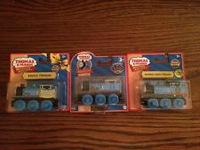 Thomas Wooden Engine Assortment Easter, Mud Covered, Holiday Lights New in Pkgs.