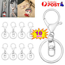 Swivel Lobster Clasp Trigger Clip Key Ring Keychain Split Ring lobster clasp