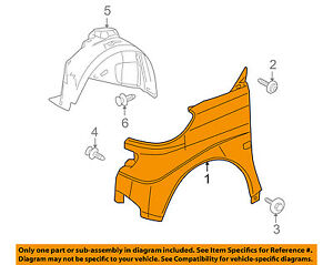 SMART OEM 08-15 Fortwo-Front Fender Quarter Panel Left 4518810101CC0L