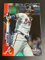 RONALD ACUNA JR. Topps Red Holo Foil #67 Atlanta Braves Ready to Grade PSA 9/10?
