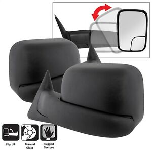 Spyder Auto 9935749 XTune Door Mirror Set Fits 94-02 Ram 1500 Ram 2500 Ram 3500