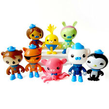 The Octonauts Action Figures Captain Barnacles Kwazii Peso Gift Toys 8PCS Xmas