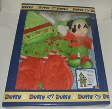 Duffy Disney Bear Elf Costume with Mickey Elf Toy Plush hat jacket pants shoes