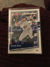 New Listing2020 Polar Bear! Donruss Name Variation Pete Alonso - New York Mets #204