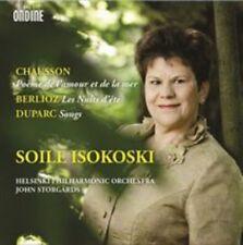 Chausson: Poeme de l'amour et de lar mer; Berlioz: Nuits d ete; Duparc: Songs, N