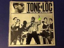 TONE-LOC~ wild thing DELICIOUS 1988 1st PRESS A/B all ORIGINAL~EP 45rpm (LP) Nm